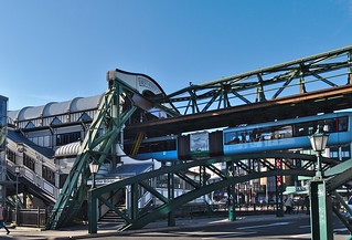 Schwebebahn Station in Wuppertal/Germany | by diarnst