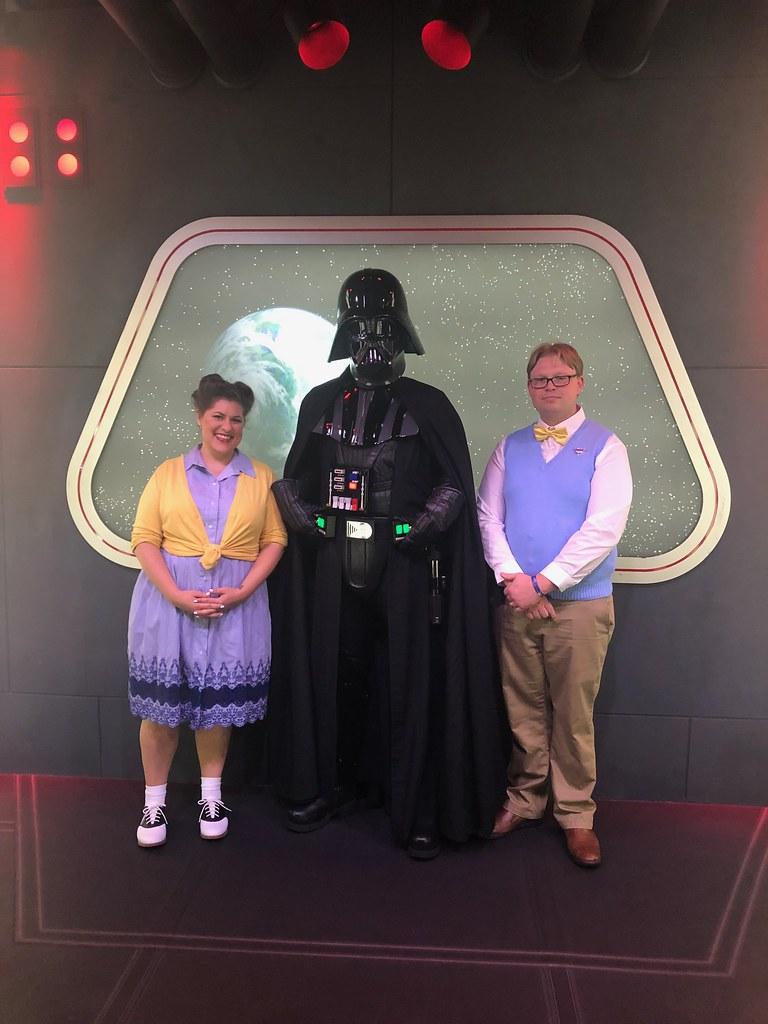 We met Vader!