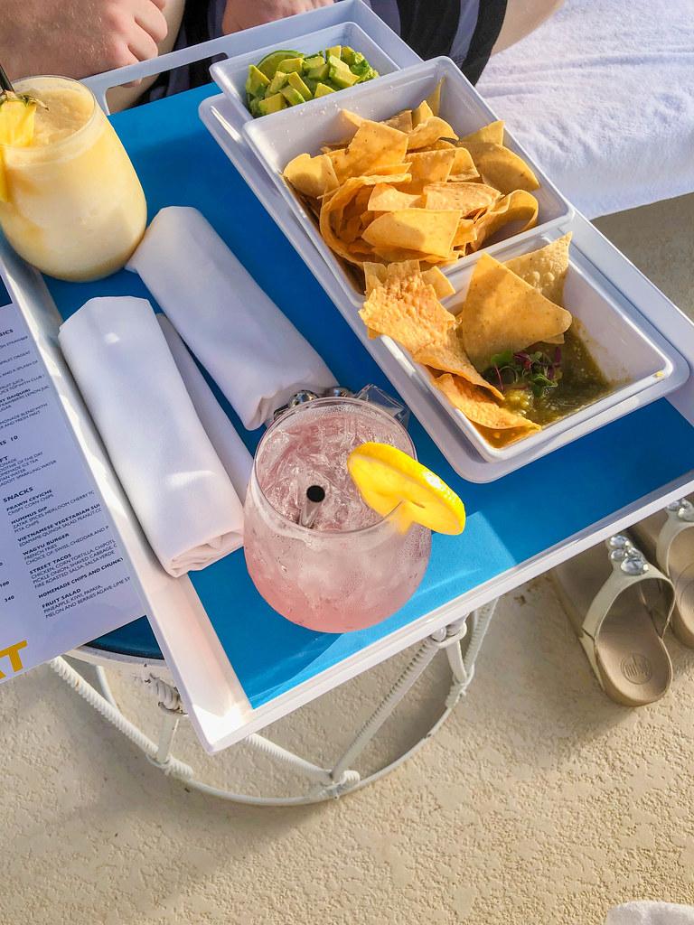 Poolside snacks from Lemonade Stand
