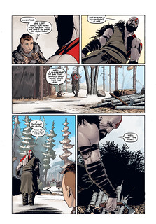 God of War prequel comic: Page 2 | by PlayStation.Blog