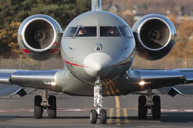 Bombardier BD-700-1A10 Global Express 9H-VJD VistaJet