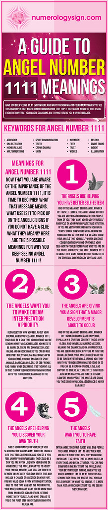 Angel Number 1111 Meaning | An infographic and guide to the … | Flickr