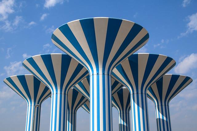 Kuwait Water Towers  /  أبراج المياه في الكويت