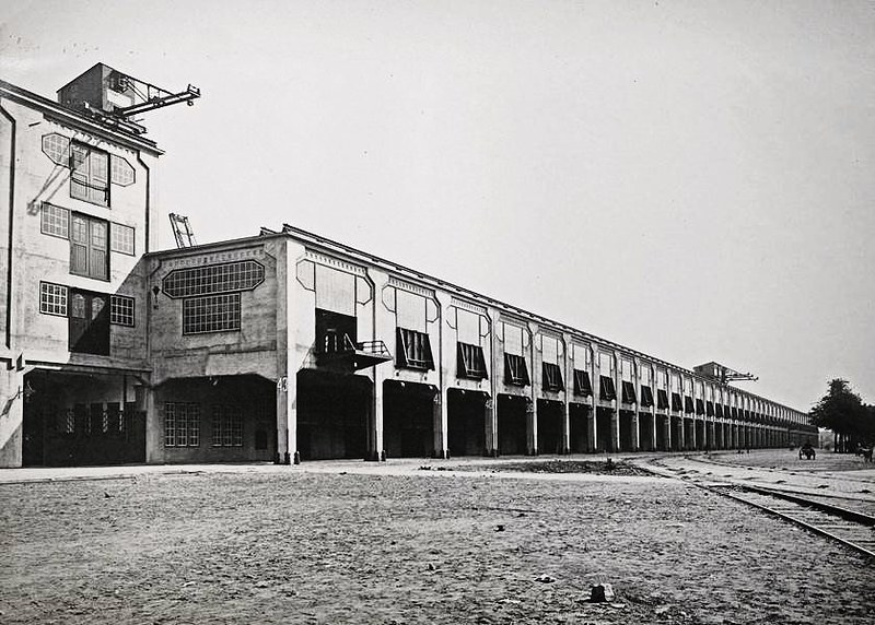 Fenixloods historische foto