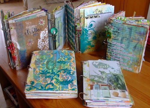 Art Journals with rings