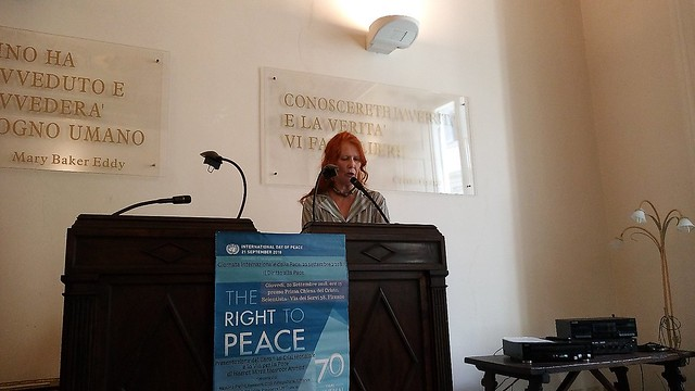 Italy-2018-09-20-International Day of Peace Observed in Florence, Italy