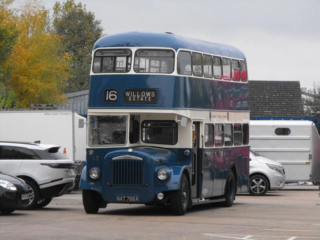 57, TJV 100 (NAT 766A), Daimler CVG6 @ LVVS - Nov. 2018