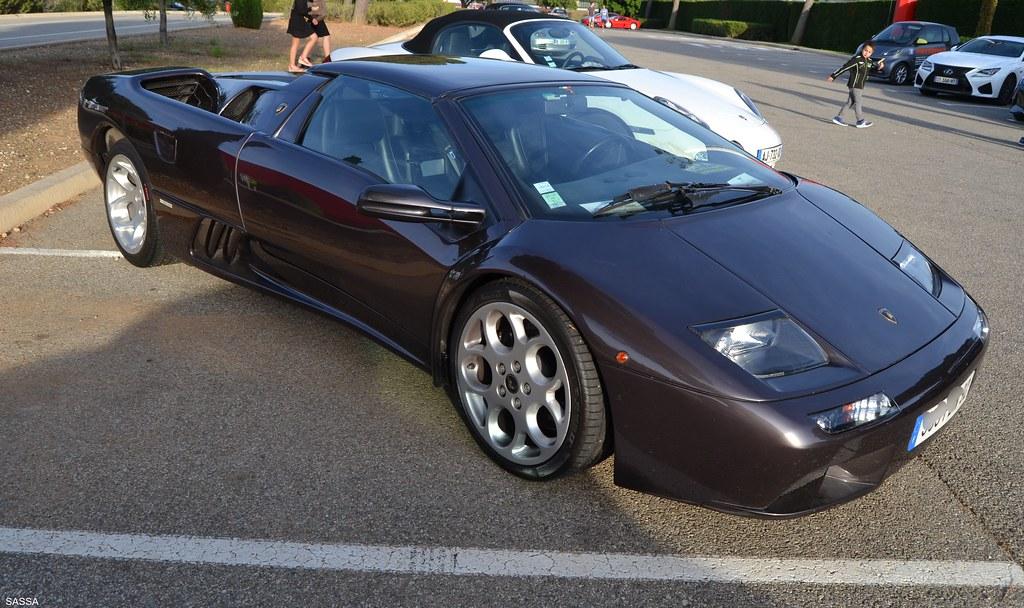 Lamborghini Diablo Vt Roadster 2eme Serie 1999 Blancpain Flickr