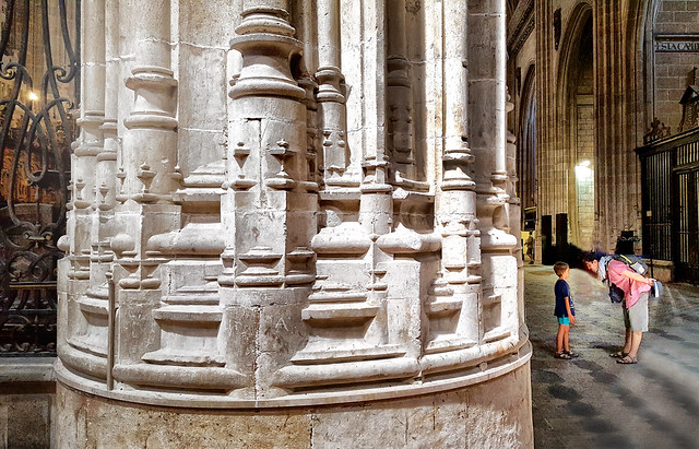 In the Cathedral at Salamanca, Spain