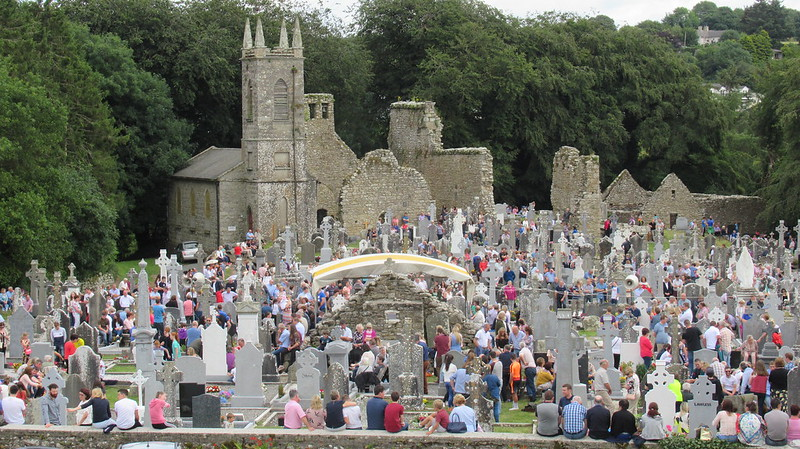 July 23 2017 Sunday St Mullins St Moling well annual pattern (120)
