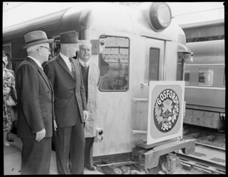 Gosford Official opening, official train at Sydney Station | by NSW State Archives and Records