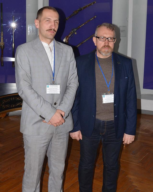 Дмитро Коляденко (ліворуч) та Юрій Бохан.