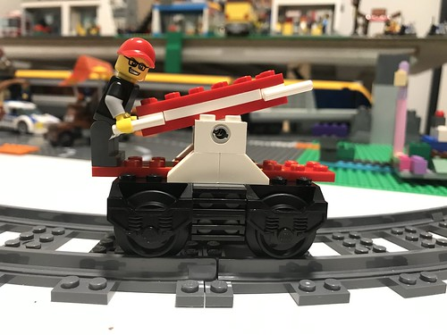 LEGO Train Handcar MOC | by GJBricks