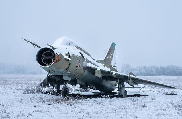 Abandoned Soukhoï Su-22