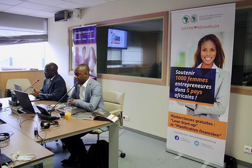 AFAWA / Entreprenarium initiative 'Supporting 1,000 women entrepreneurs in 5 African countries' - Masterclasses for women entrepreneurs in Abidjan