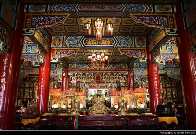 Zhinan Temple, Taipei, Taiwan