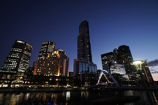 Southbank skyline, Melbourne | by Joe Lewit