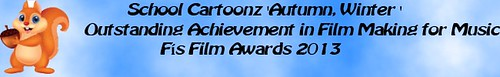 Music award banner