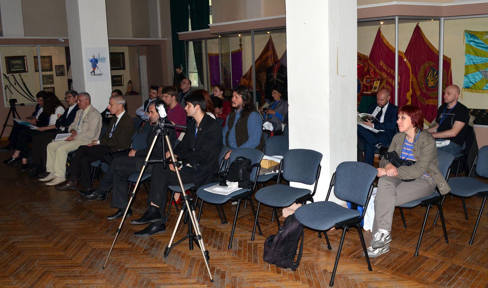 Учасники конференції на засіданні (16.05.2016).