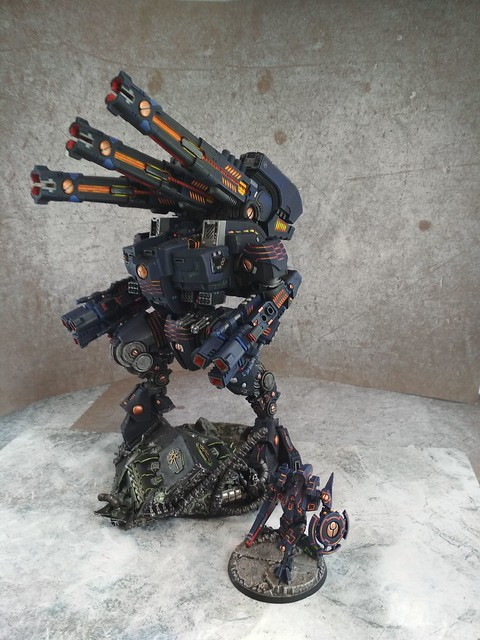 Tue, 01/01/2019 - 00:00 - KX139 Taunar Supremacy Armour with Battlesuit Commander00029