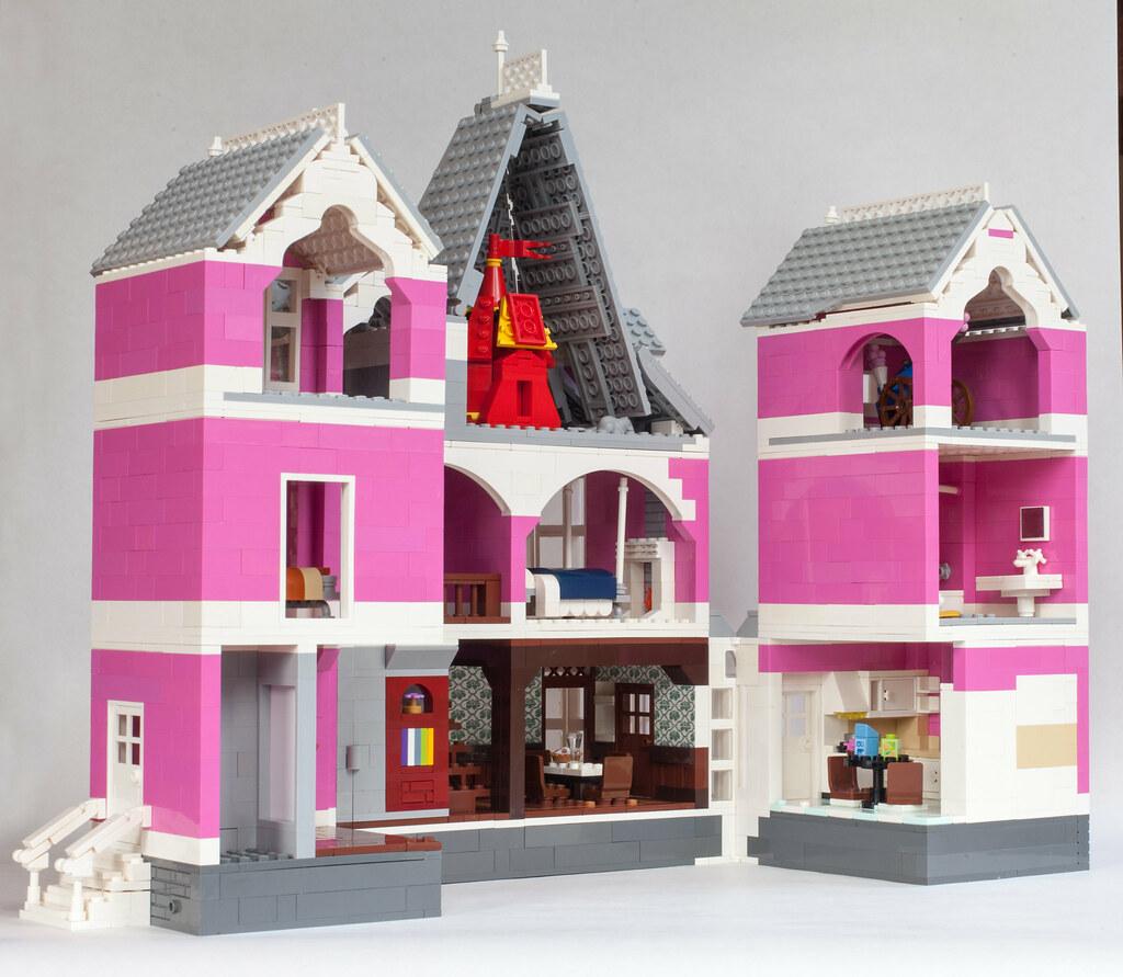 LEGO Coraline House - Interior
