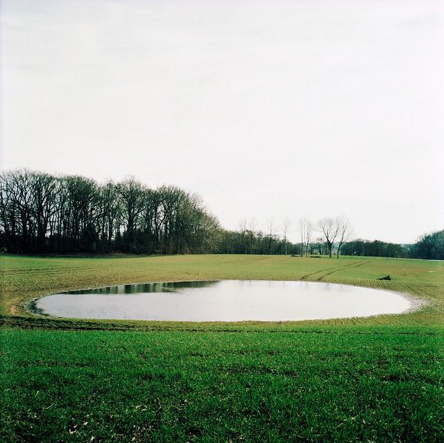 X-pro: Lille sø på marken