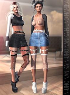 N-Uno & Nanika - Isabella Outfit @Shiny Shabby - GACHA