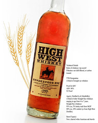 HIGH WEST WHISKEY- RENDEZVOUS RYE