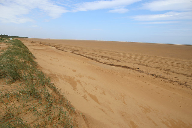 The beach at Donna Nook