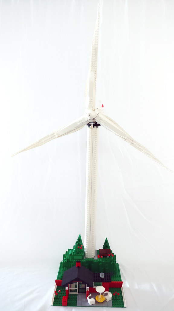 LEGO Creator Vestas Wind Turbine (10268) | Read more here: w… | Flickr