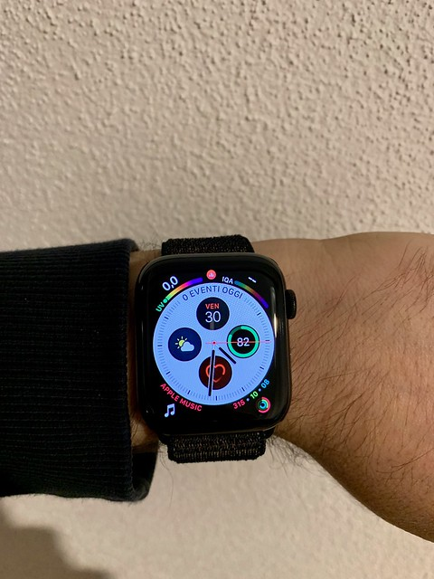 Awesome,helpful,beautiful,powerful. Apple Watch 44 steel LTE. Photo taken with iPhone XS Max.