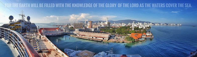 For the earth will be filled with the knowledge of the glory of the Lord     as the waters cover the sea.