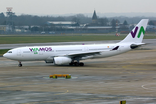 wamos wamosair plm eb pullmantur aircraft airplane airport plane planespotting canon 7d 100400 london gatwick egkk lgw airbus a330 a330200 airbusa330 airbusa330200 ecmny
