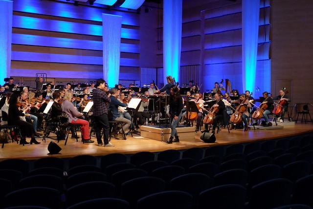 Norrköpings Symfoniorkester repeterar
