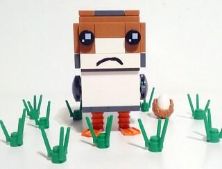 Porg Brickheadz