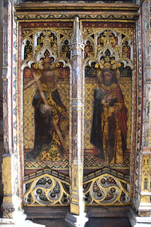rood screen (north): St Philip and St Bartholomew (15th Century) | by Simon_K