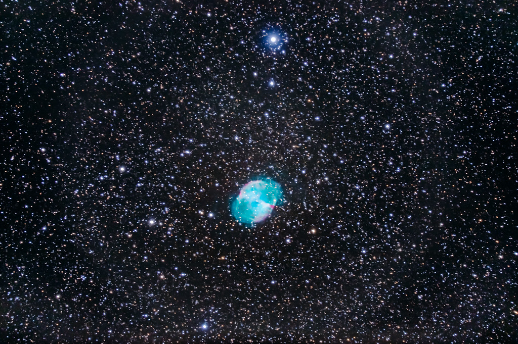 M27, the Dumbbell Nebula | Messier 27, the Dumbbell Nebula, … | Flickr