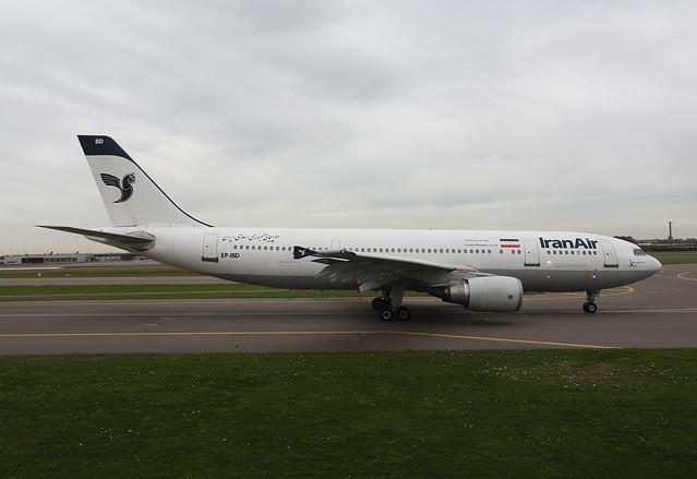 EP-IBD Airbus A300-605R Iran Air
