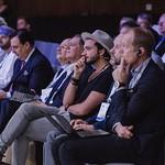 Rand Hindi during Plenary 3 session at IRU World Congress