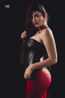 Sara - Black corset   by n4i.es