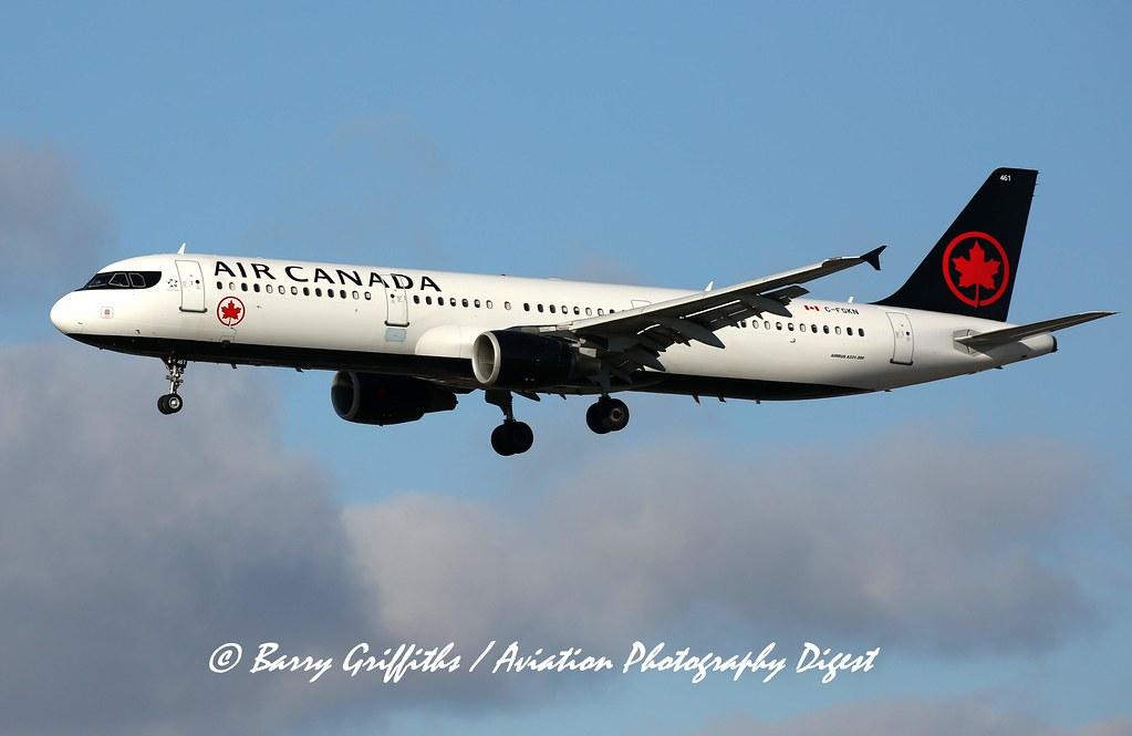 Airbus A321-211, s/n 3051 (2007), Air Canada, C-FGKN