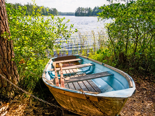 Boat in the Summer   by Digikuvaaja
