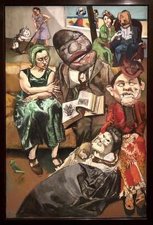 The Fisherman Triptych [Le triptyque du pêcheur], 2005, Paula Rego