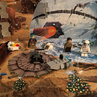 The first week of the 2017 Lego Advent Calendar. | by Allen J Fuller III