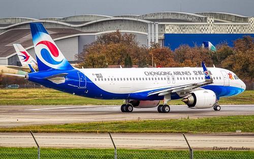 F-WWIO // B- Chongqing Airlines Airbus A320-251N msn 8690 Néo | by Florent Péraudeau