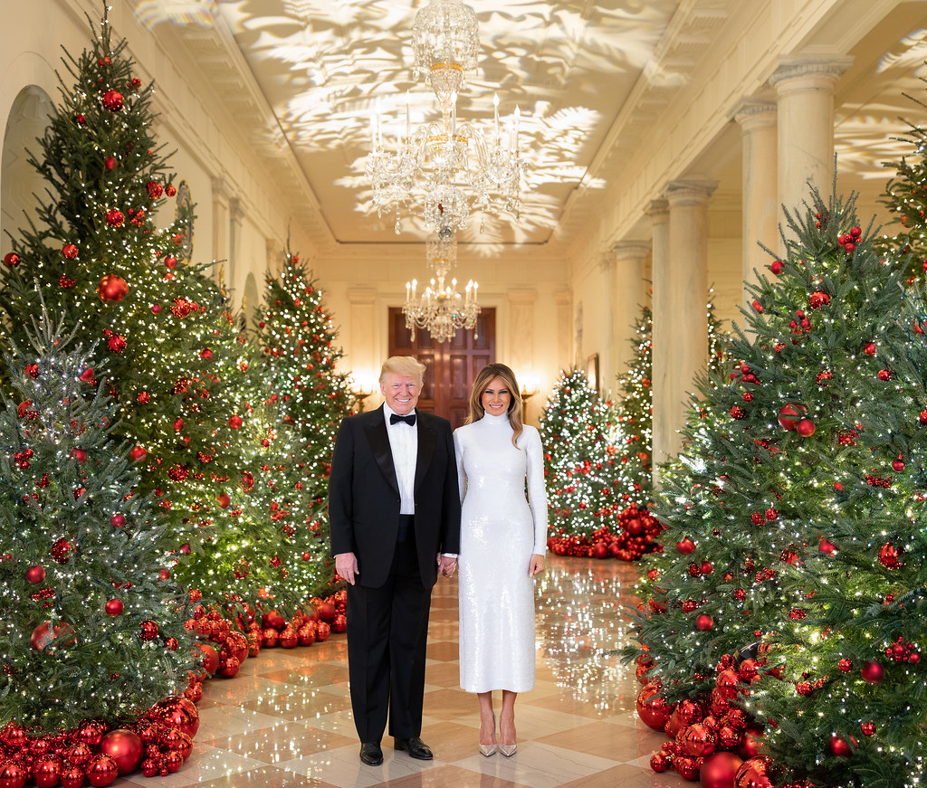 White House Christmas 2018 President Donald J Trump And F Flickr