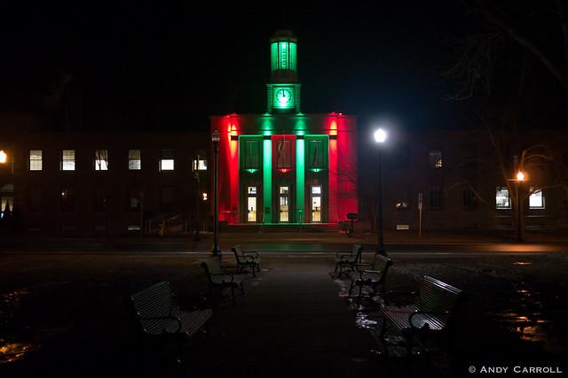 City Hall, night