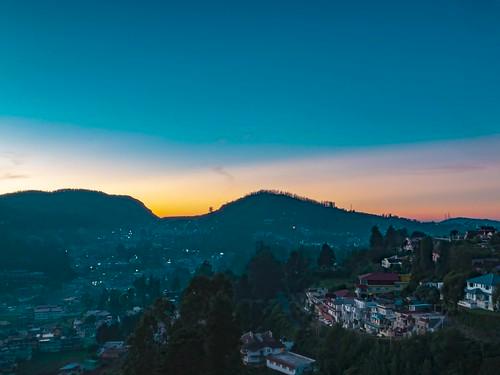 ooty sunrise timelapse india tamil nadu