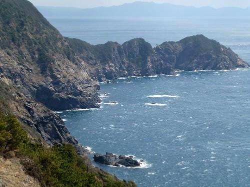 coastal rock 愛南町 愛媛県 japan ehime ainan koumomisaki