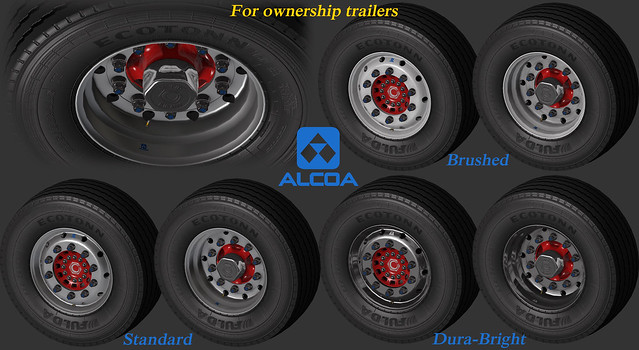 Alcoas for ownership trailers